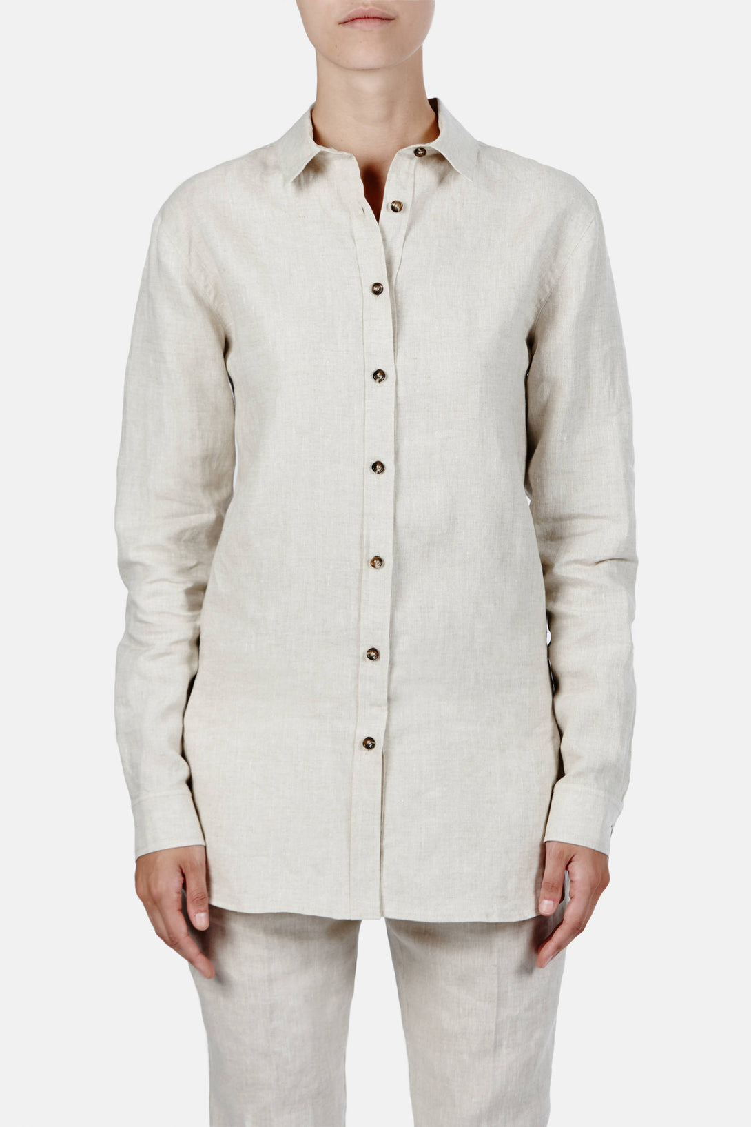 Montauk Shirt - Raw Linen