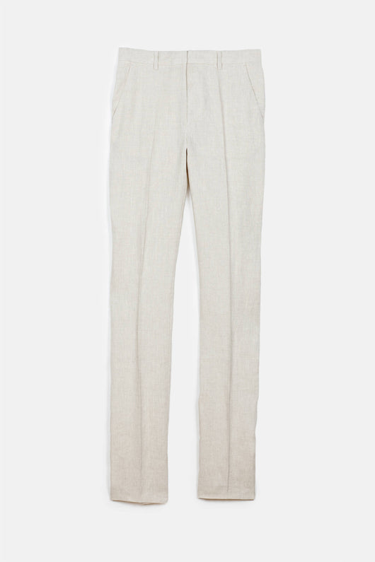 Mayfair Pants - Raw Linen