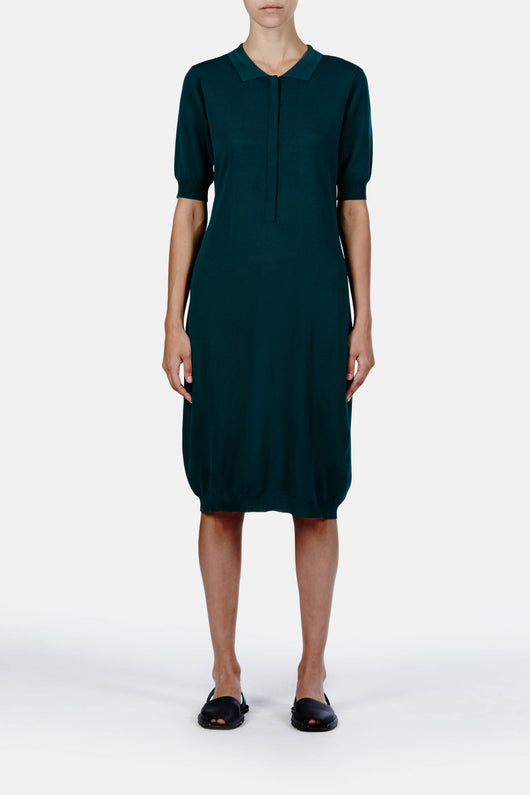 Antwerp Dress - Botanical Green