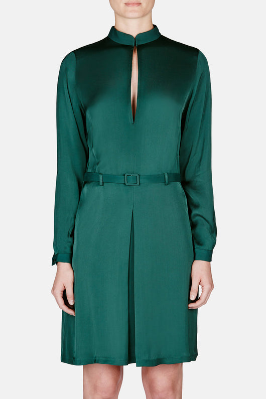 Murau Dress - Emerald Green