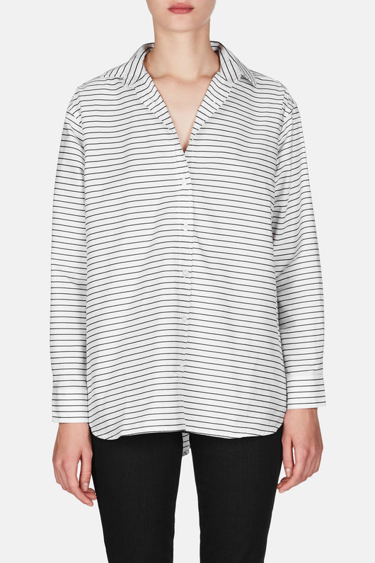 Capri Shirt - Striped