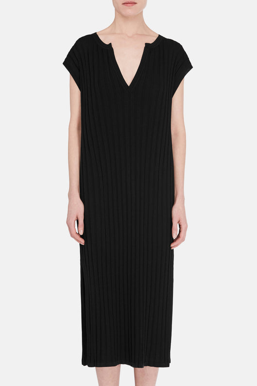 Bahia Knit Dress - Black