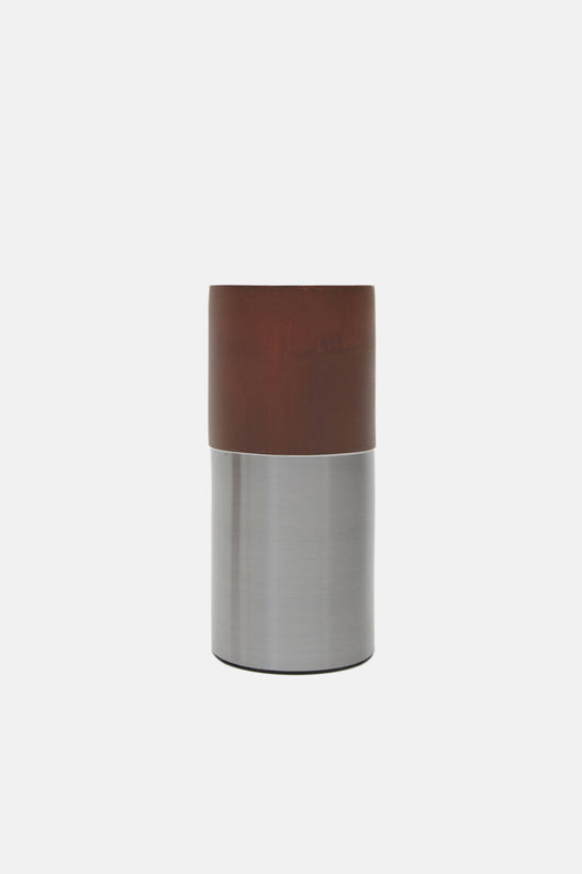 Tall Brown Steel True Colour Vase by Lex Pott