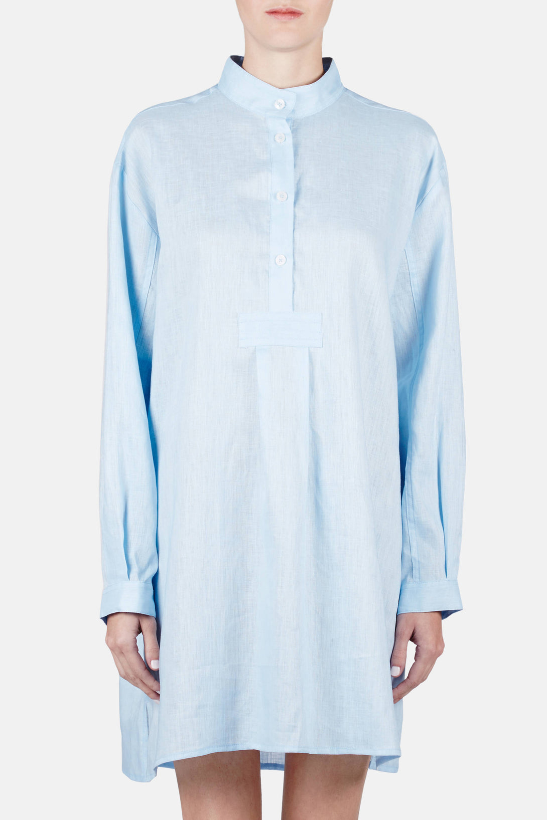 Short Sleep Shirt - Spa Blue