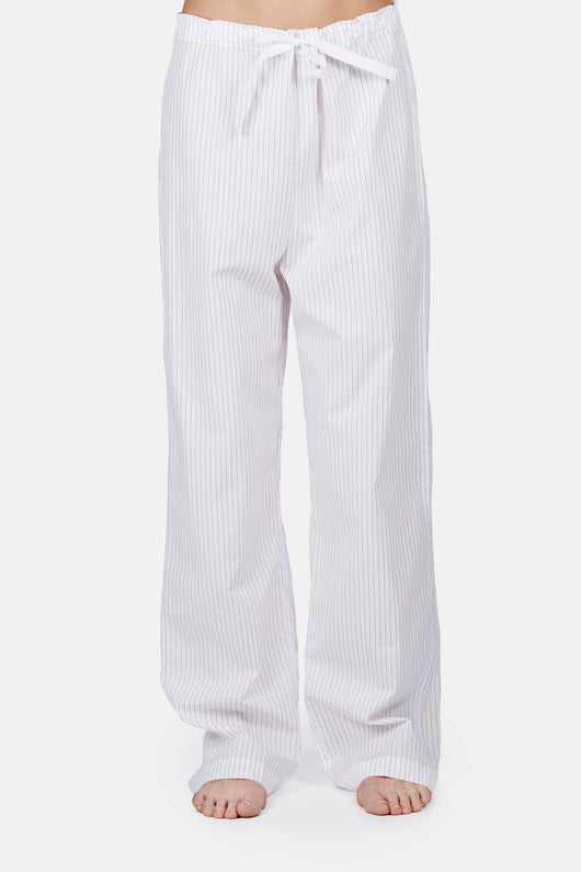 Lounge Pant - Red and White Stripe
