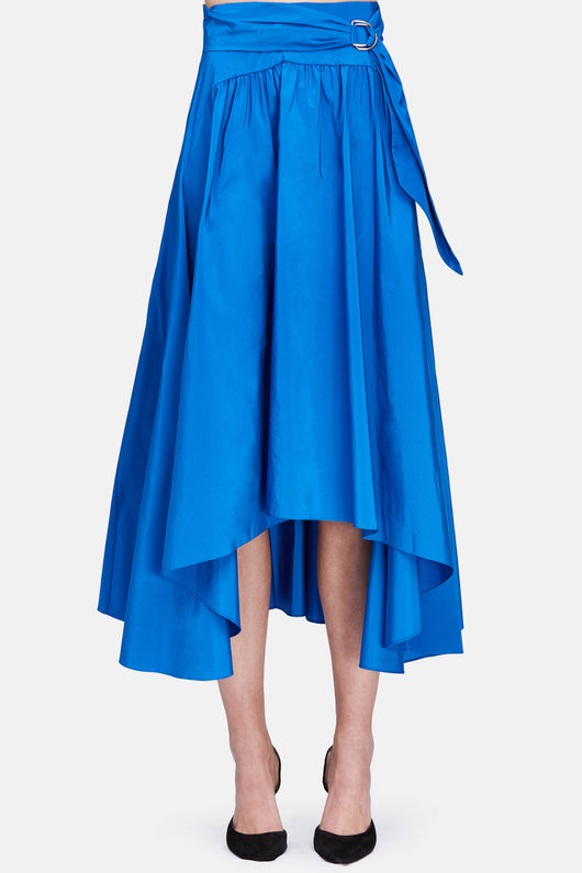 Taffeta Skirt - Bright Blue
