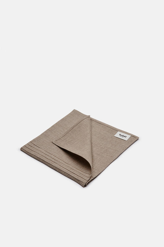 Pintuck Linen Napkin - Natural