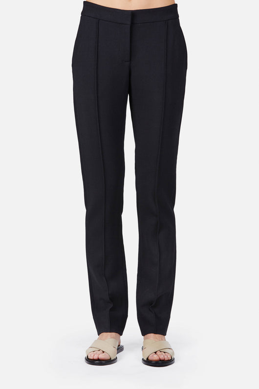 Trouser 10 Slim Legged Trouser - Black