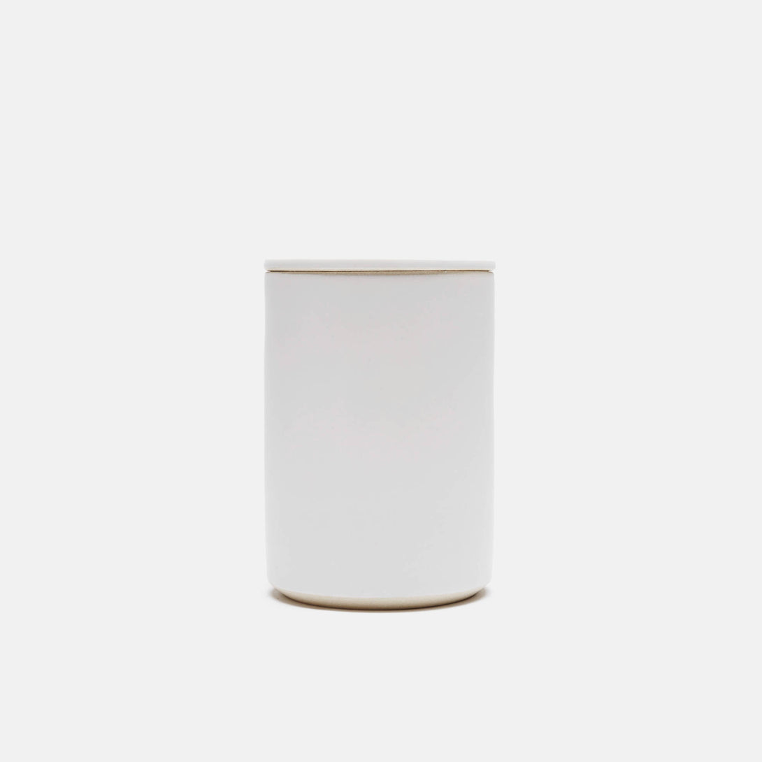 White Lidded Kitchen Vessel - Medium