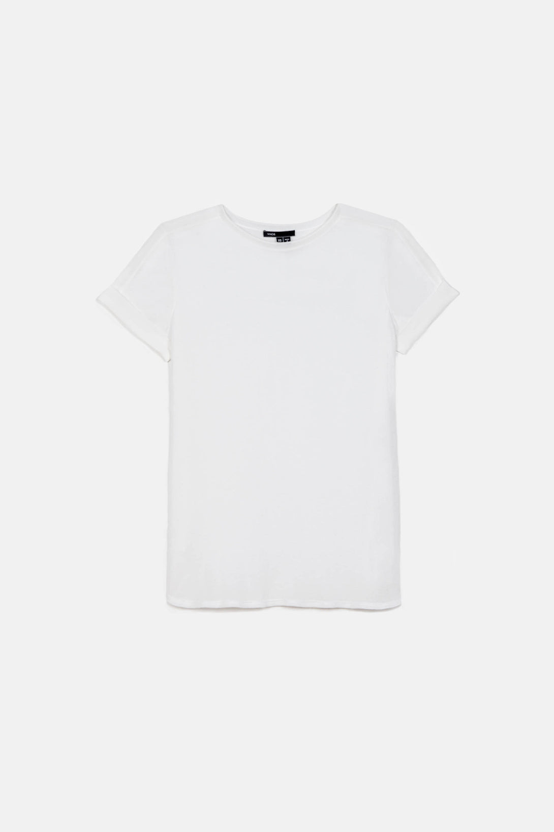 Mixed Media S/S Tee - White