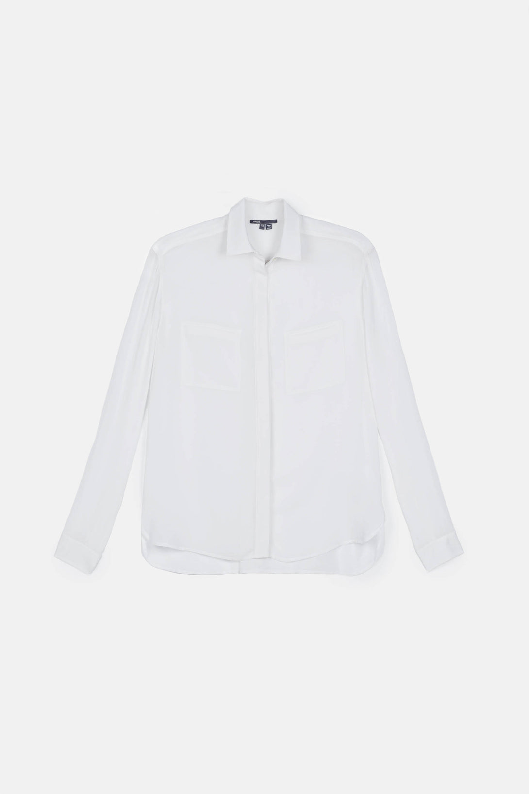 L/S Button Up Shirt - White