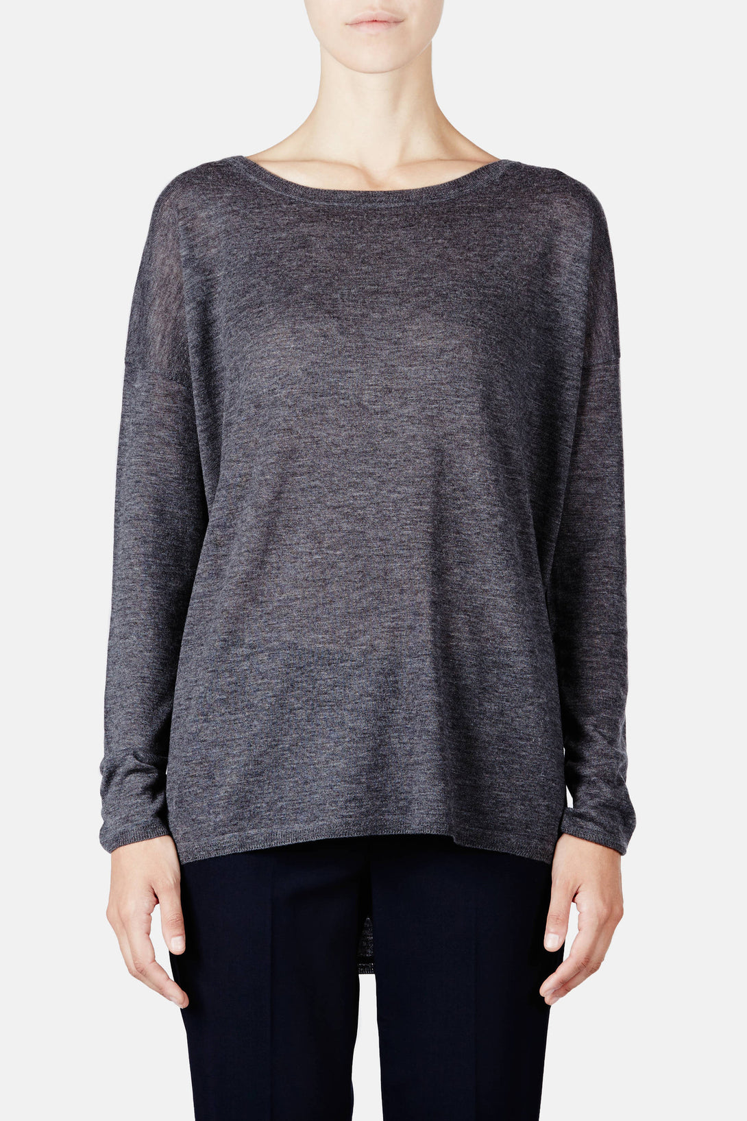 Lightweight Crew Sweater - Thunder