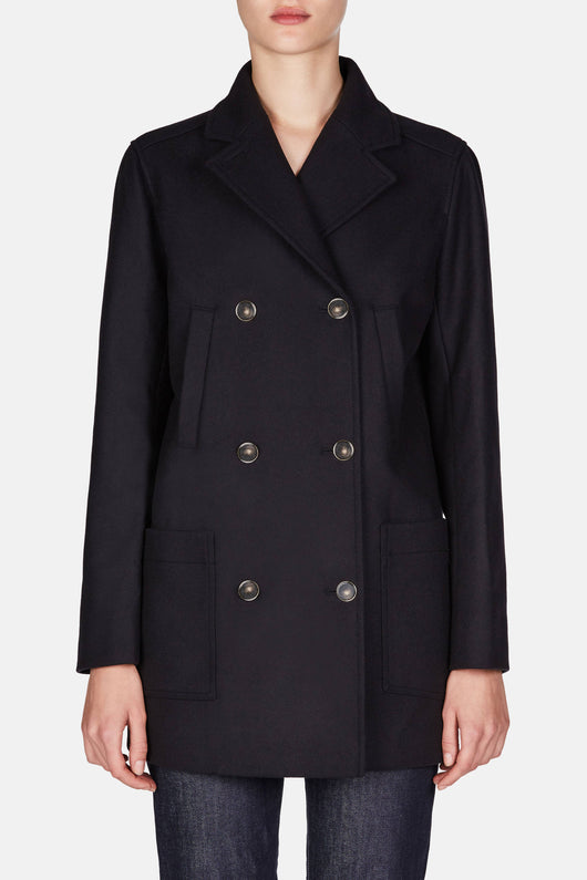 Pea Coat - Dark Navy
