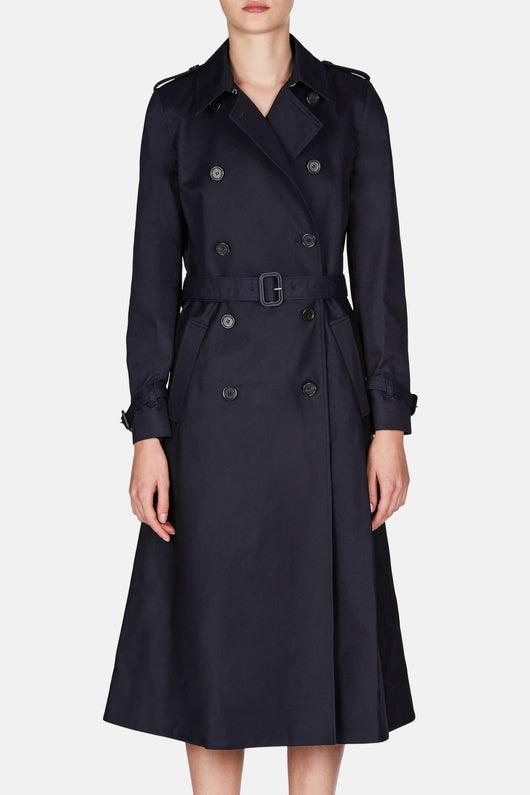 Brighton Trench - Dark Navy