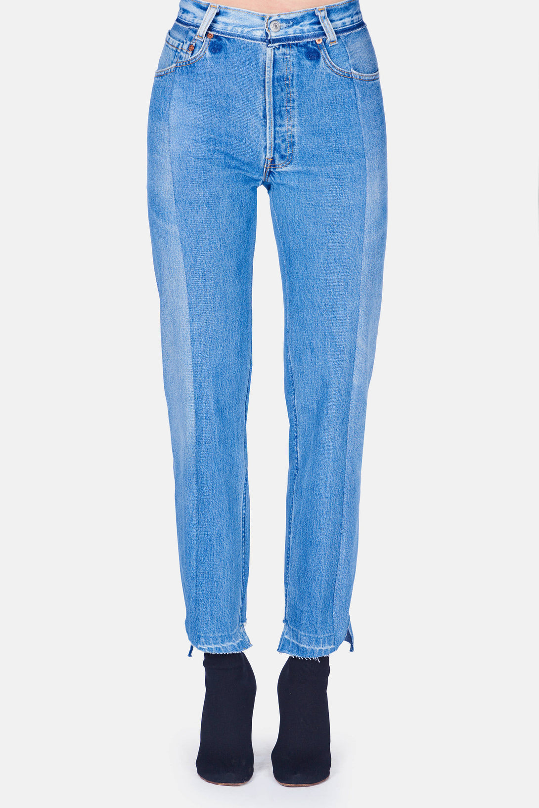 Reworked Jean - Blue