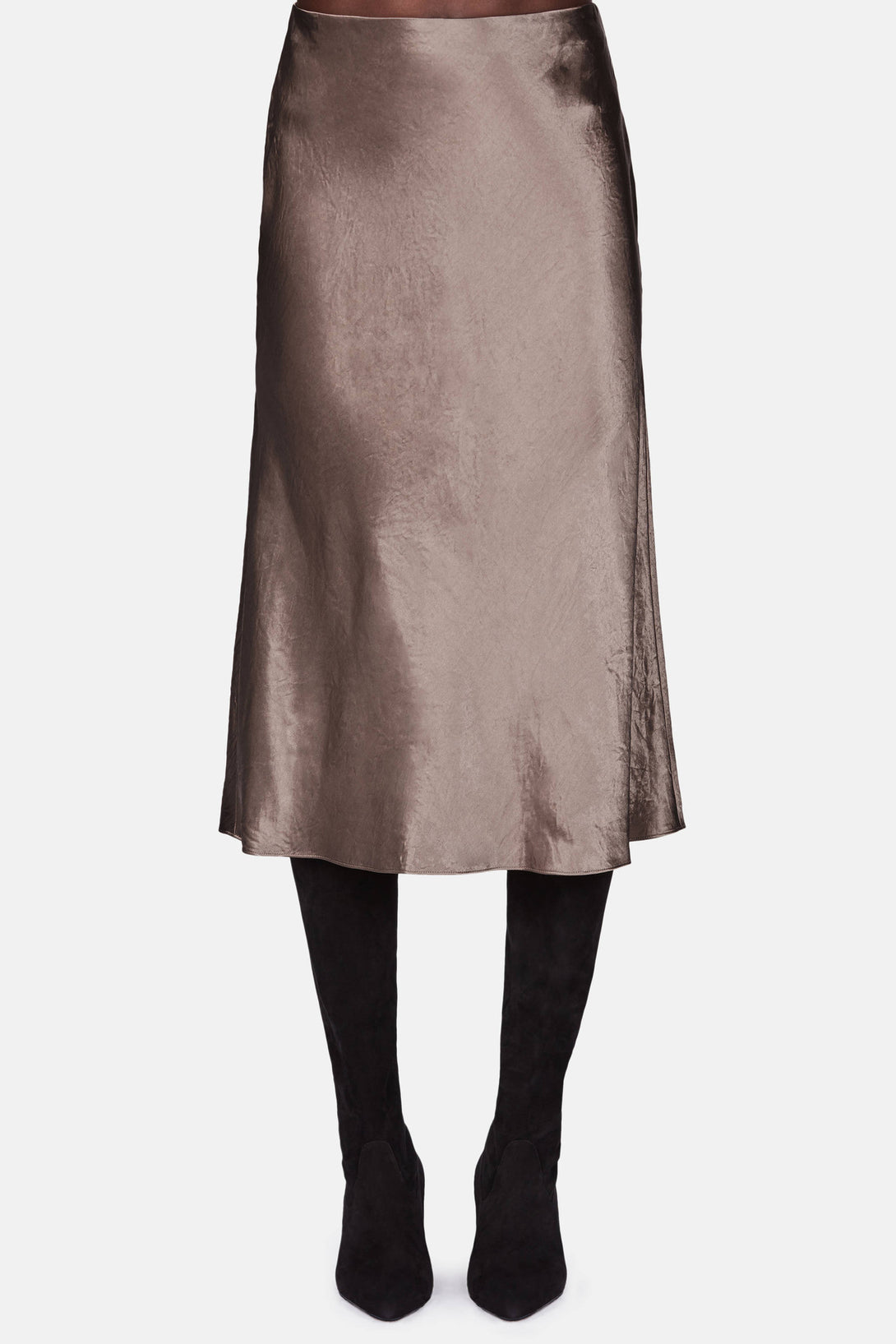 Flare Skirt - Coffee – The Line