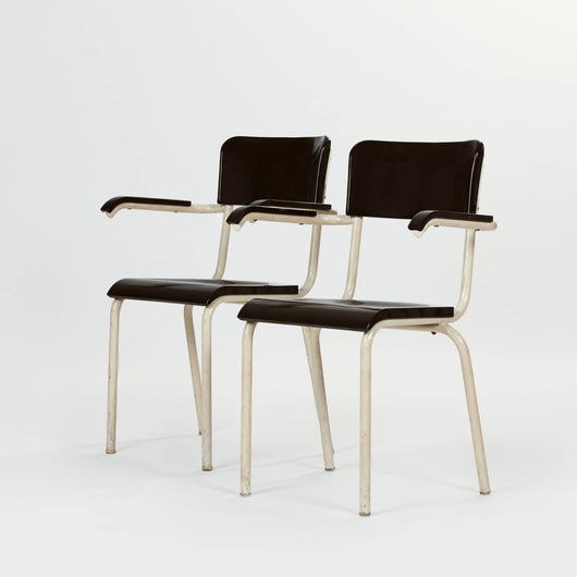 Pair of Chairs by René Herbst