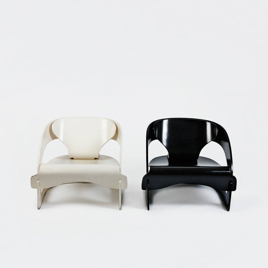 Pair of Model 4801 Chairs by Joe Colombo