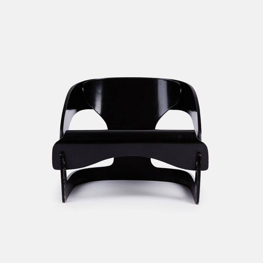 Model 4801 Chair by Joe Colombo - Black