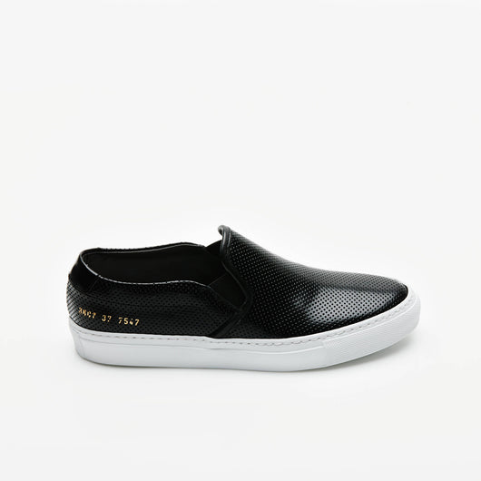 Slip On Perforated  - Black