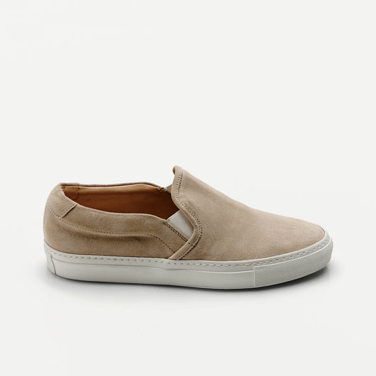 Slip-On in Suede - Off-White