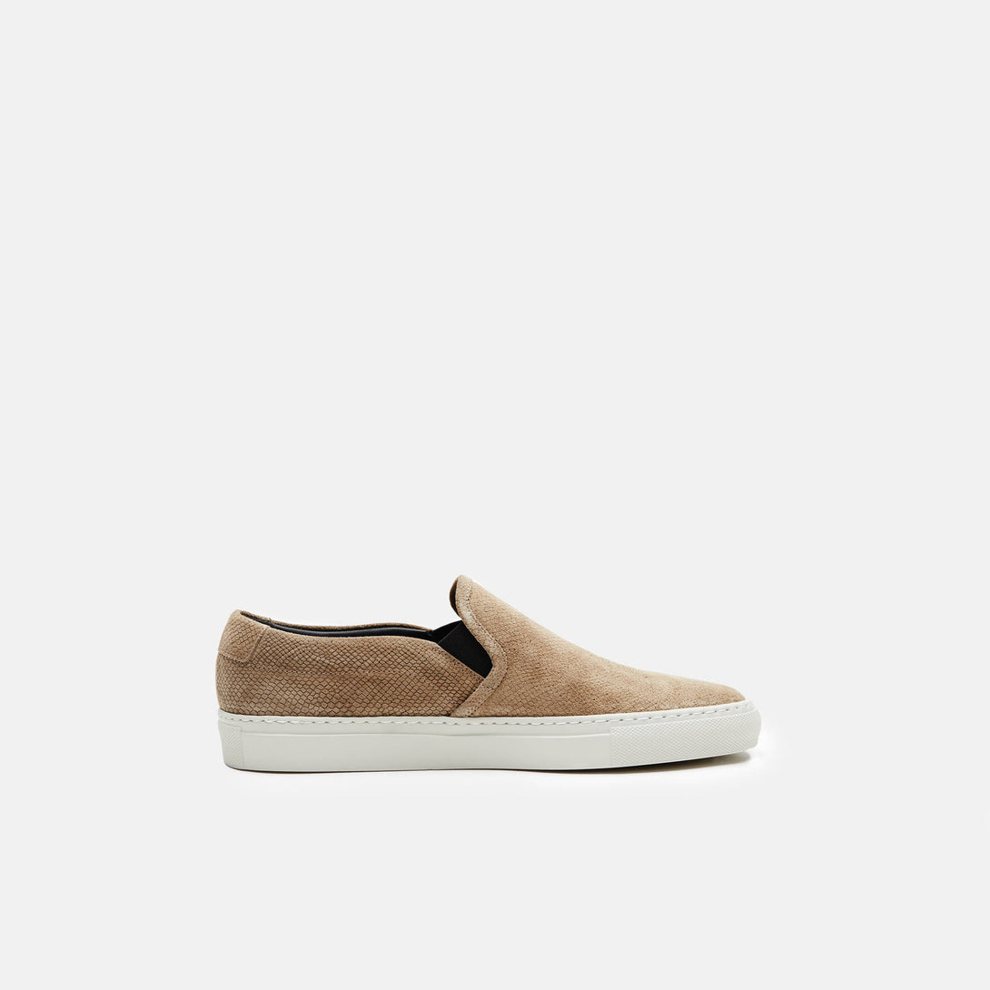 Slip-On in Suede - Khaki