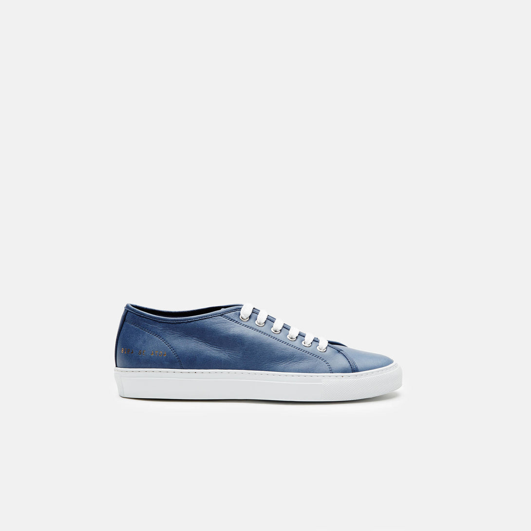Tournament Low in Leather - Navy