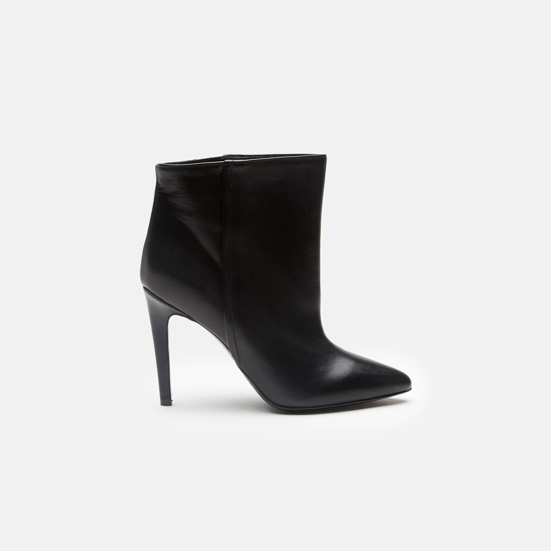 High Heel Bootie - Black