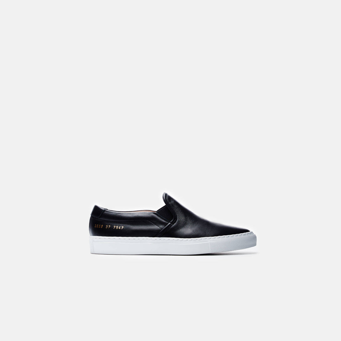 Slip-On - Smooth Black