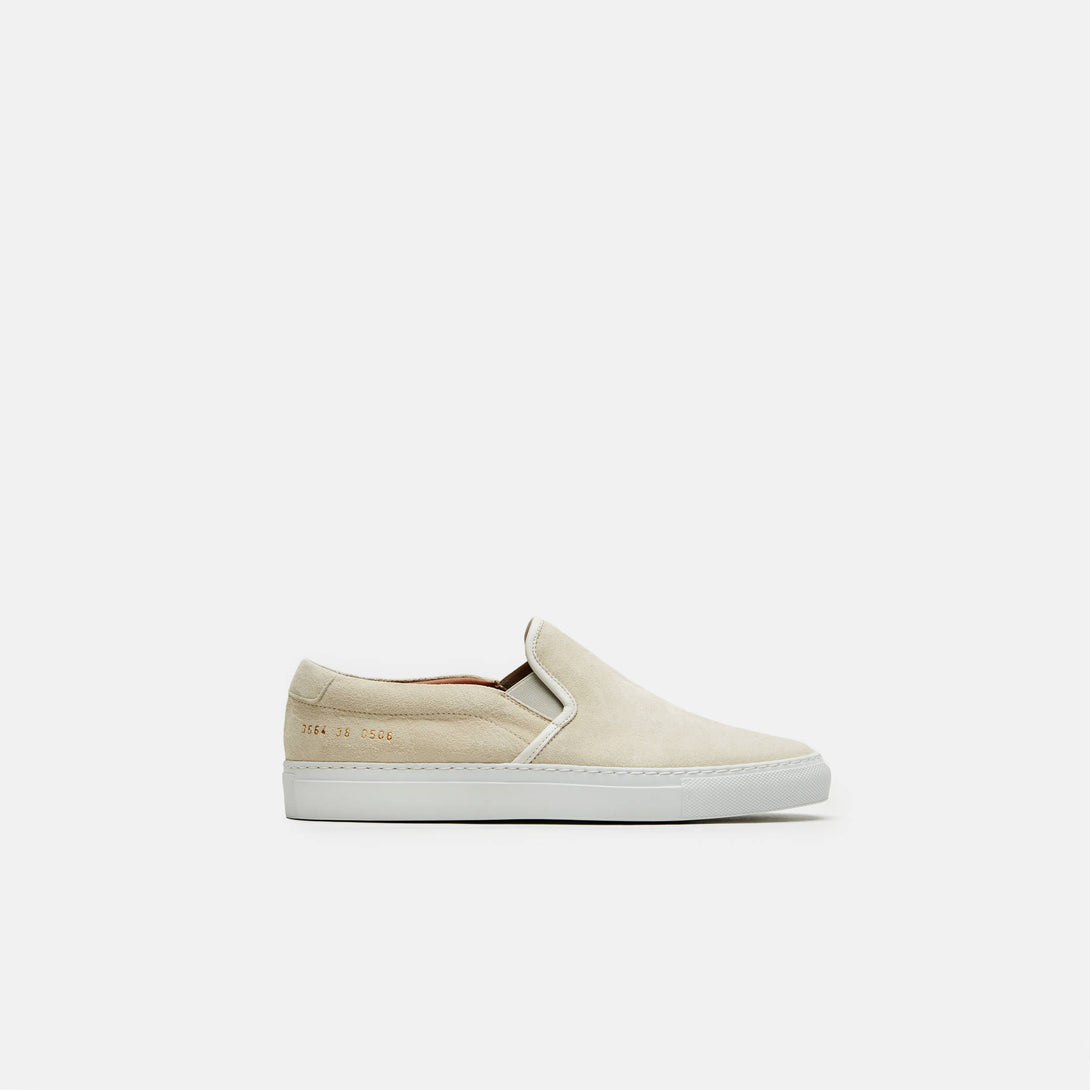 Slip-On in Suede - White