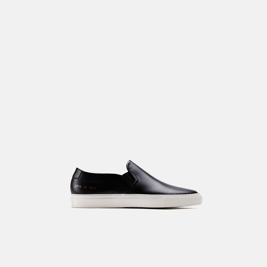 Slip-On in Leather - Black
