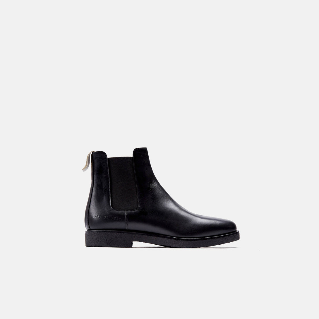 Chelsea Boot in Leather - Black