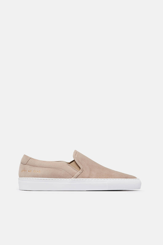 Slip-On in Suede - Smoke
