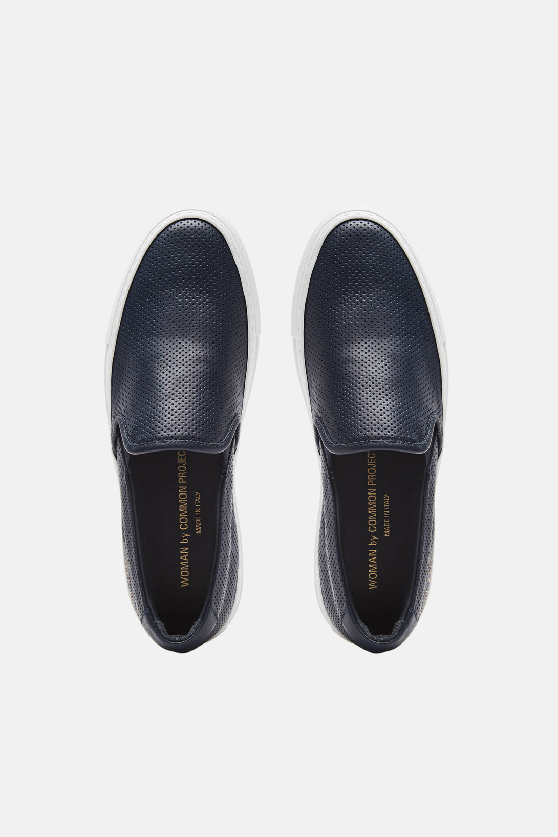 80e2ac9931d2f Perforated Slip-On - Navy – The Line