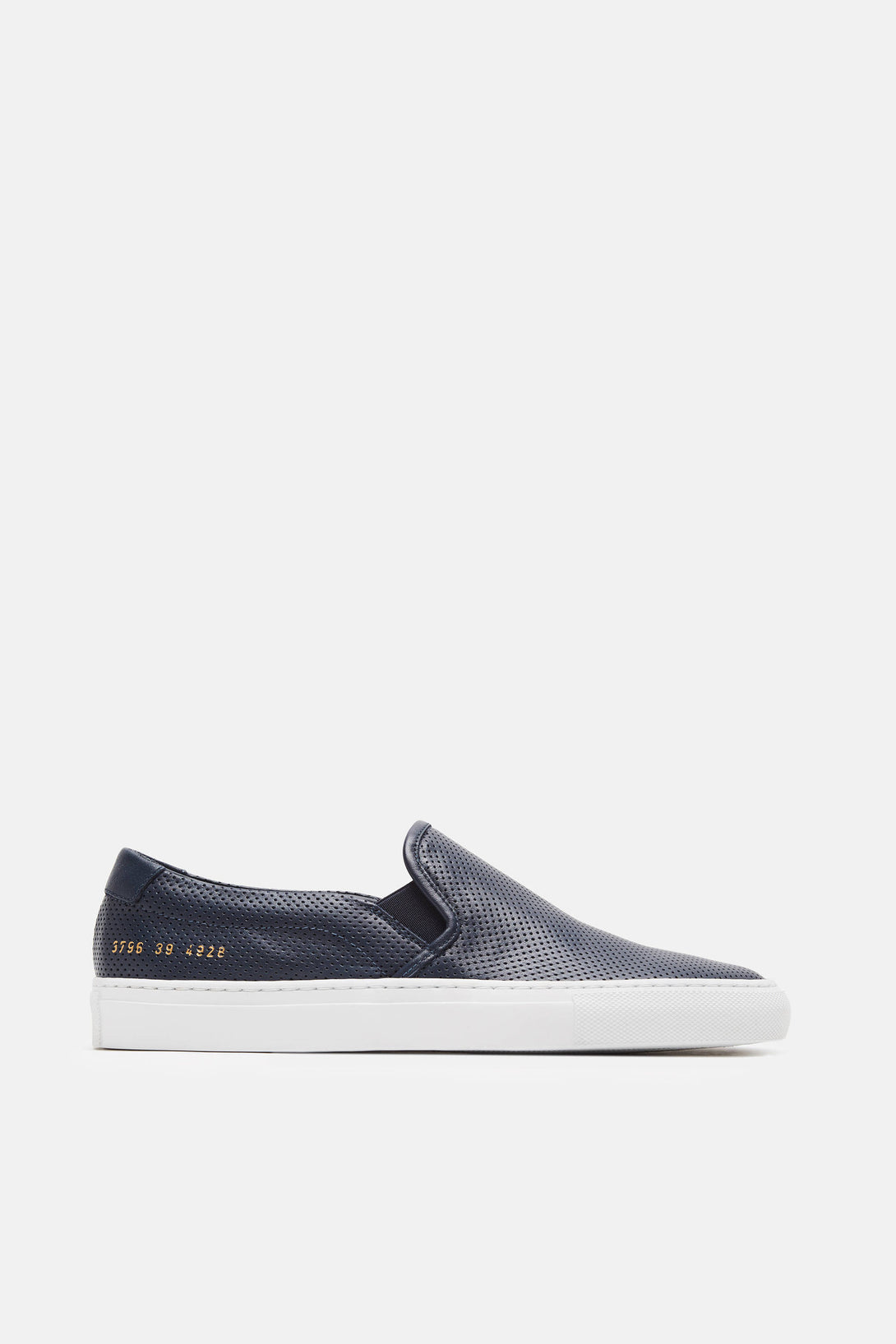 Perforated Slip-On - Navy
