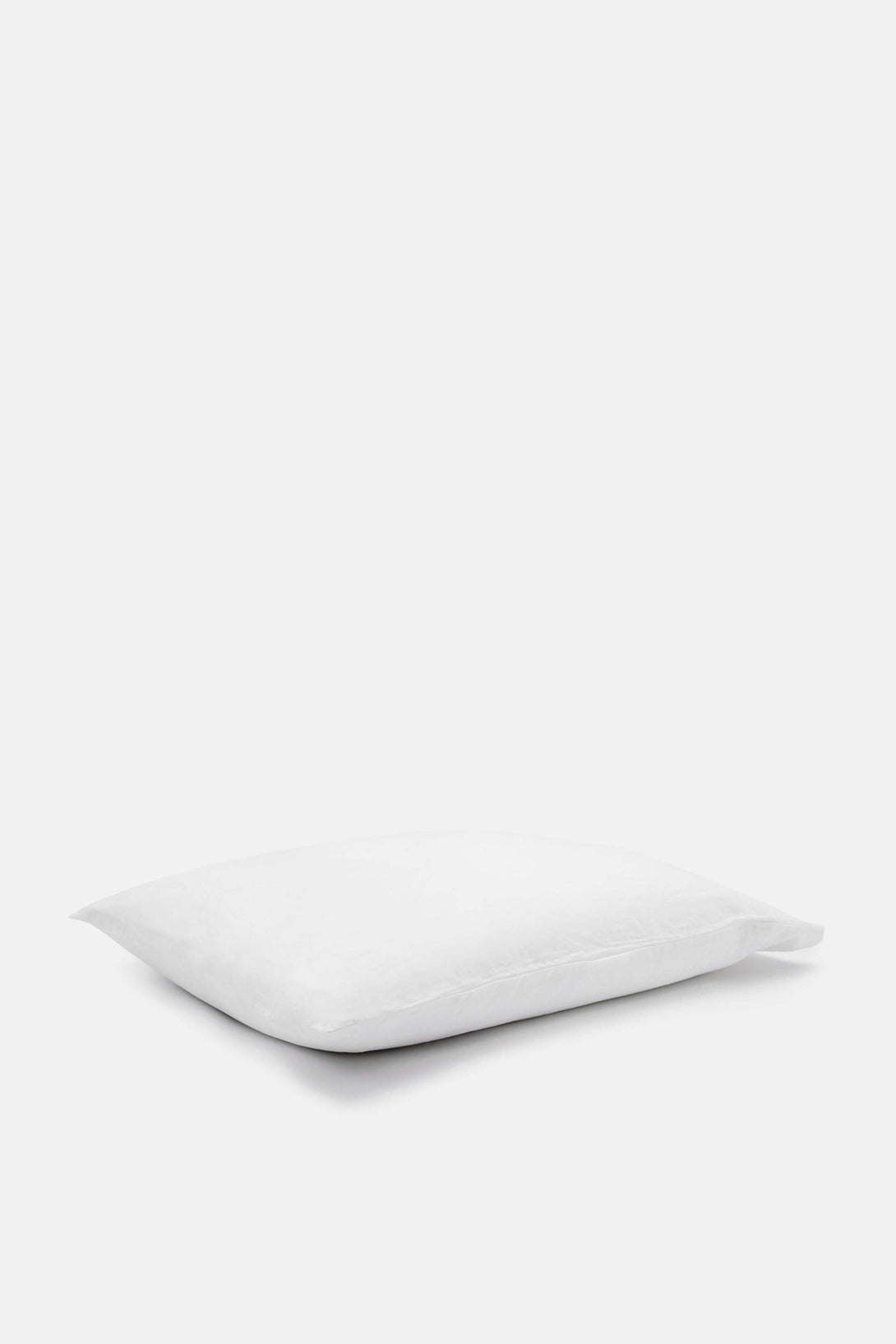 Washed Percale King Pillowcases - White