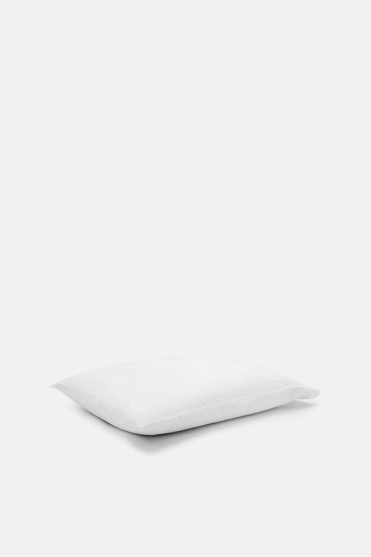 Washed Percale Standard Pillowcases - White