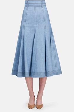 Wytte Skirt - Light Blue