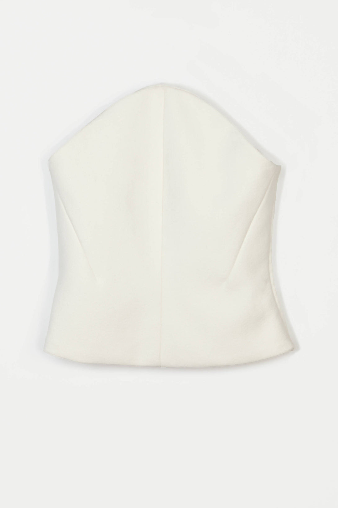 Bustier 01 Curve Bustier - Ivory