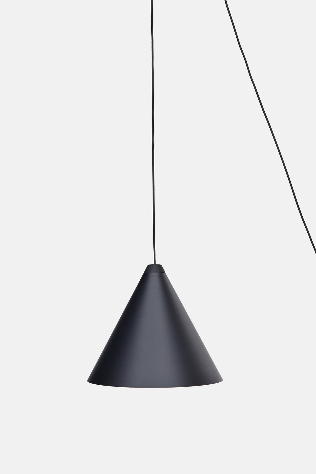 Cone String Light by Michael Anastassiades - Black