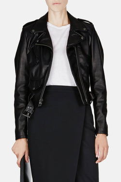 Schott x The Line Leather Jacket