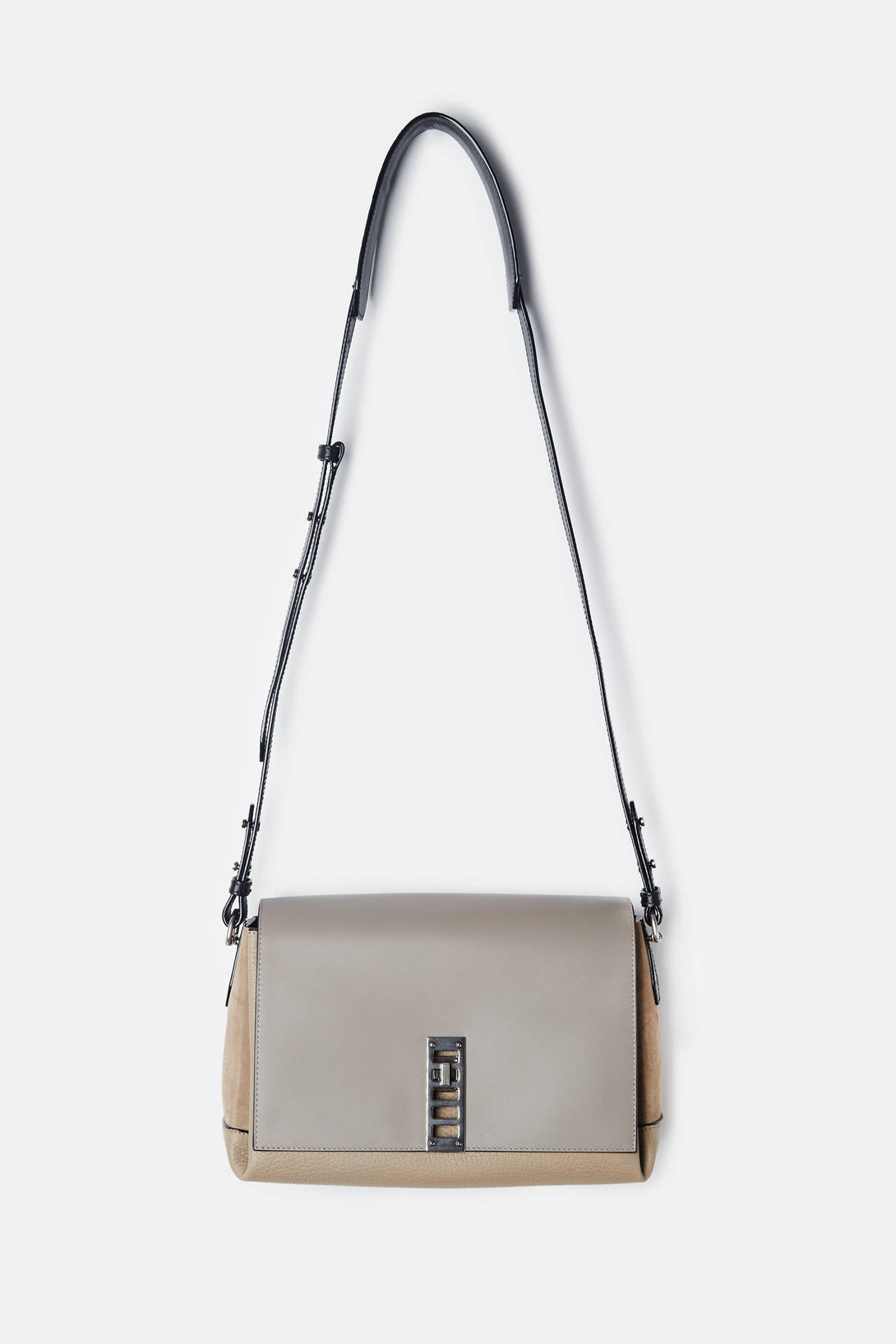 PS Elliot Crossbody - Dark Sand/Black