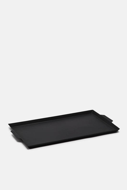 Rectangular Matte Black Tray