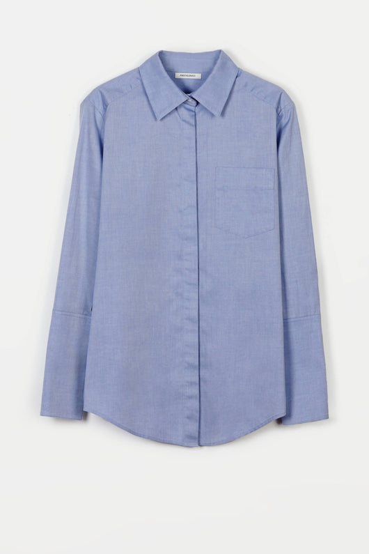 Shirt 01 Medium Body Dress Shirt - Blue