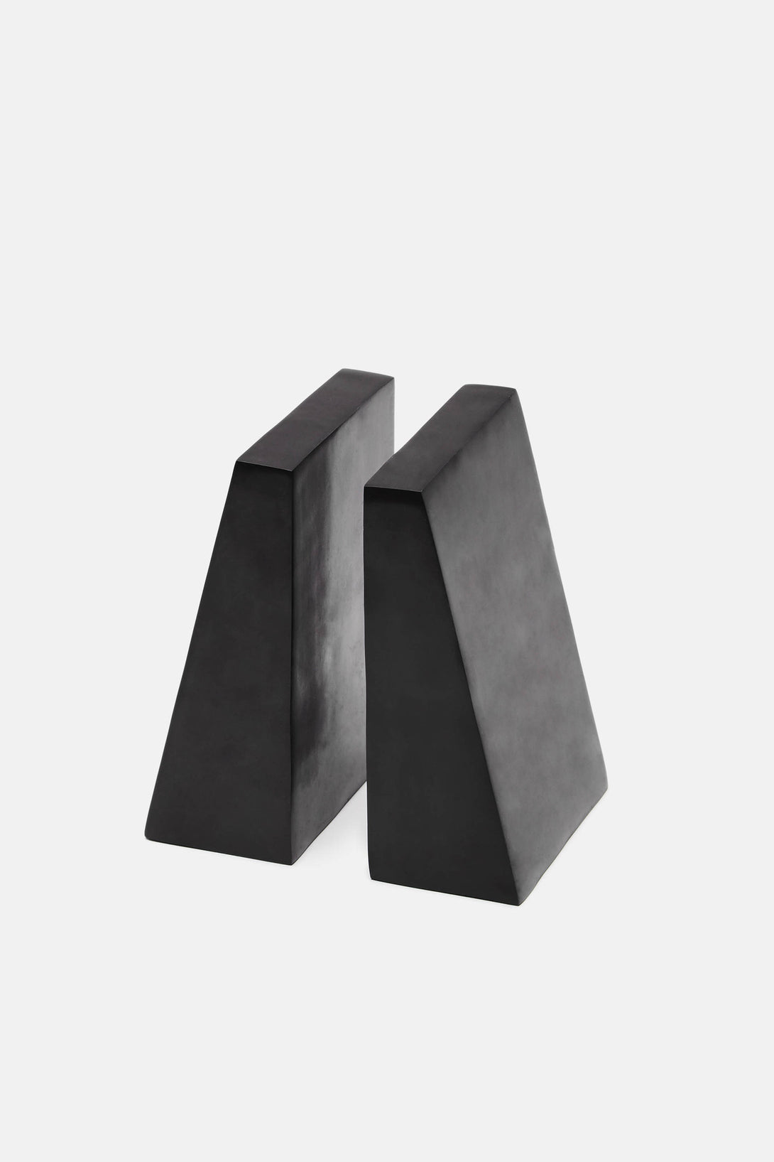 Soapstone Bookend Set - Black