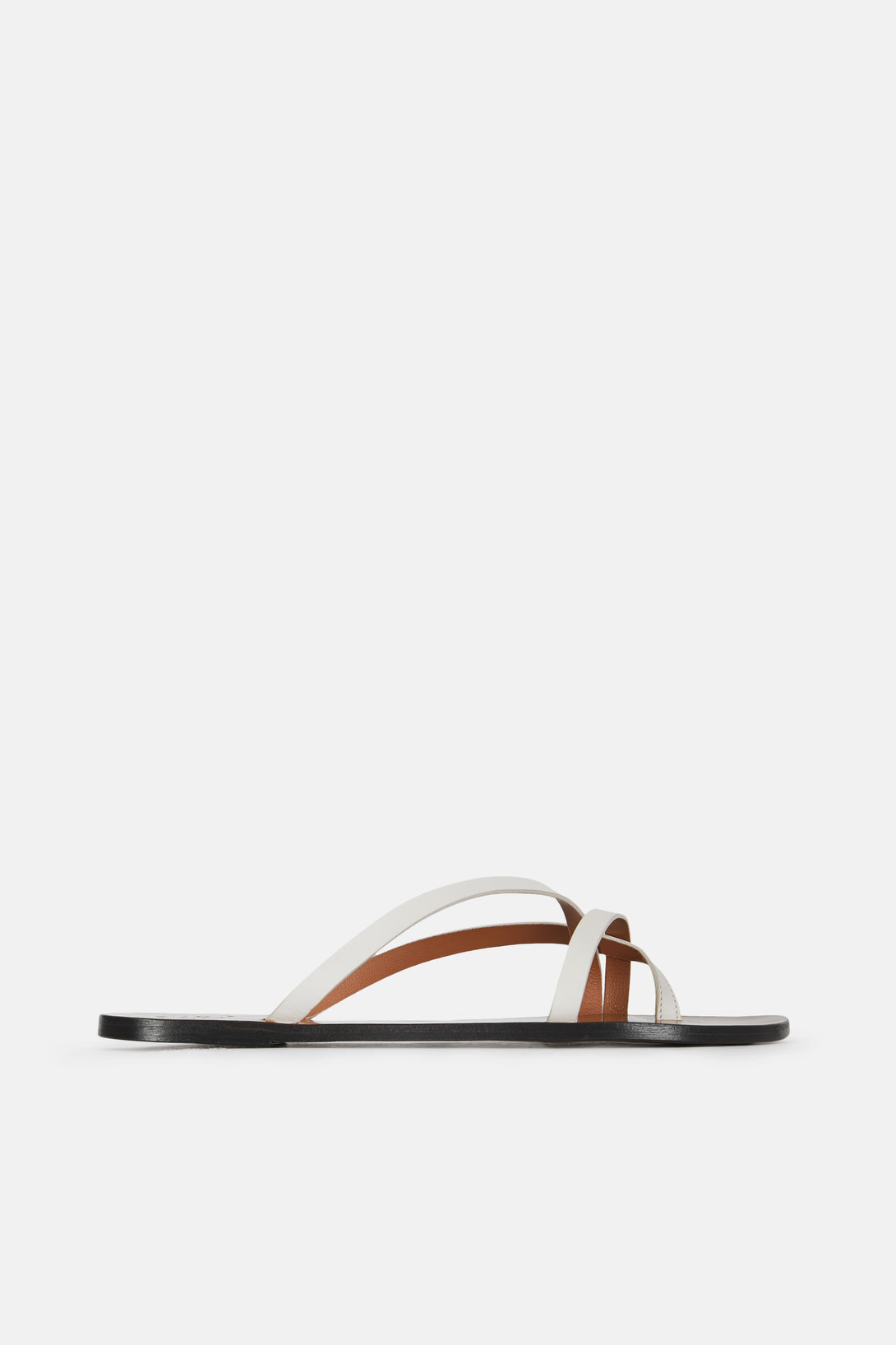 Anise Strappy Sandal - Ice White