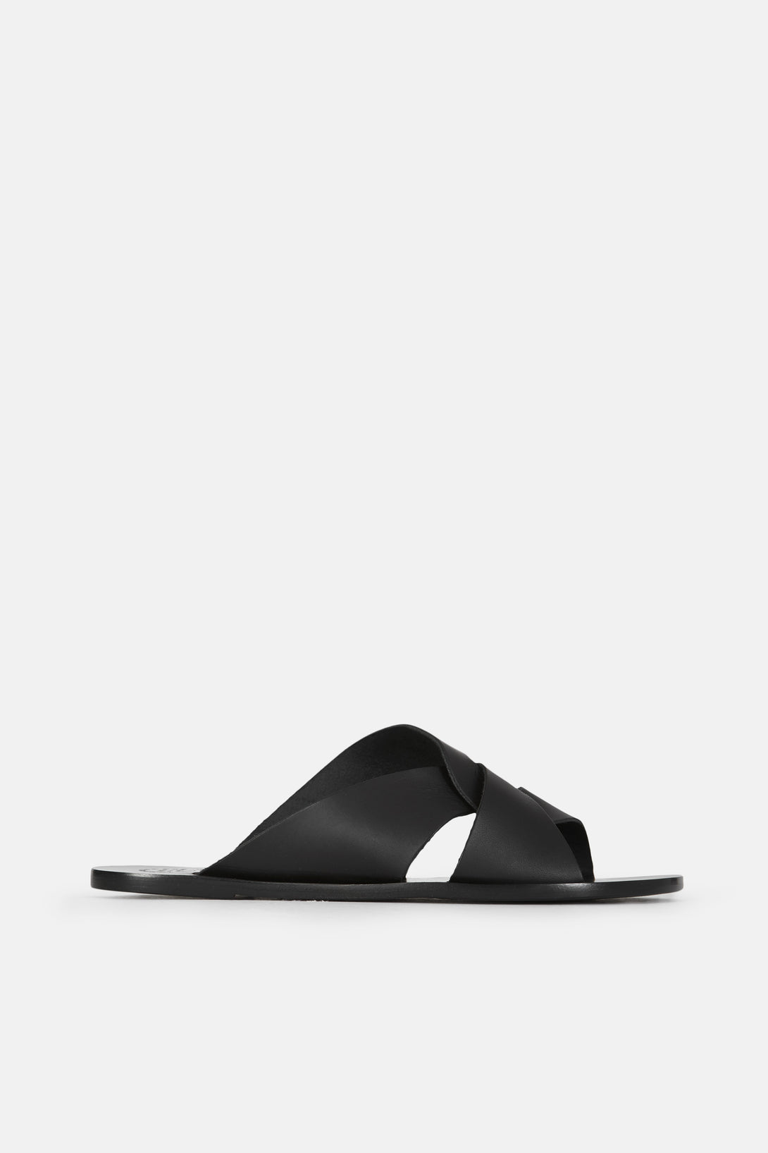 Allai Twist Detail Sandal - Black