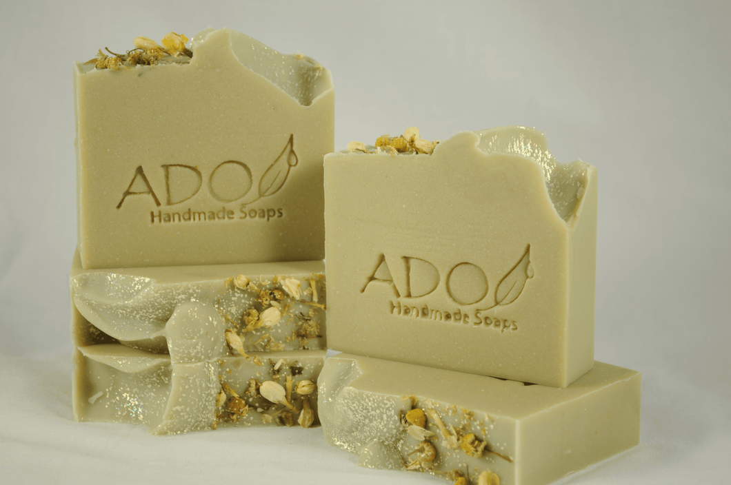 Apple Sage Artisan Handmade Soaps with Goat Milk.