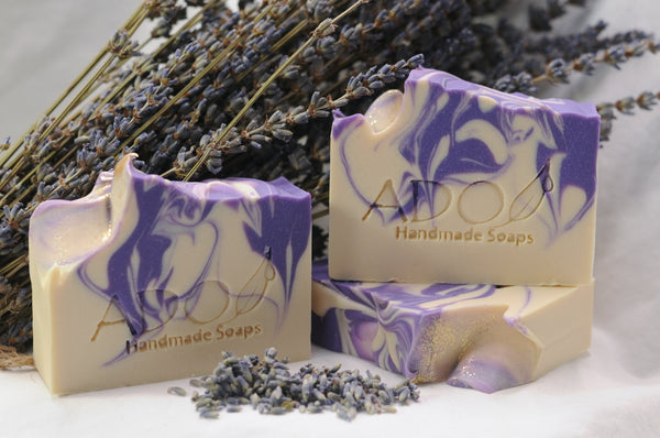Serenity Artisan Soap | Familiar and Herbaceous Blend of Lavender and Sage