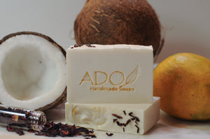 Tree of Life Handmade Soap | Calm and Sweet with a Soft Aroma of Coconuts and Mango